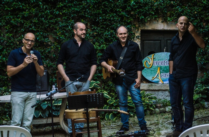 Ferentino Acustica Open Mic 2016 Acoustic Trio Baxa-Perrini-Gallian-2