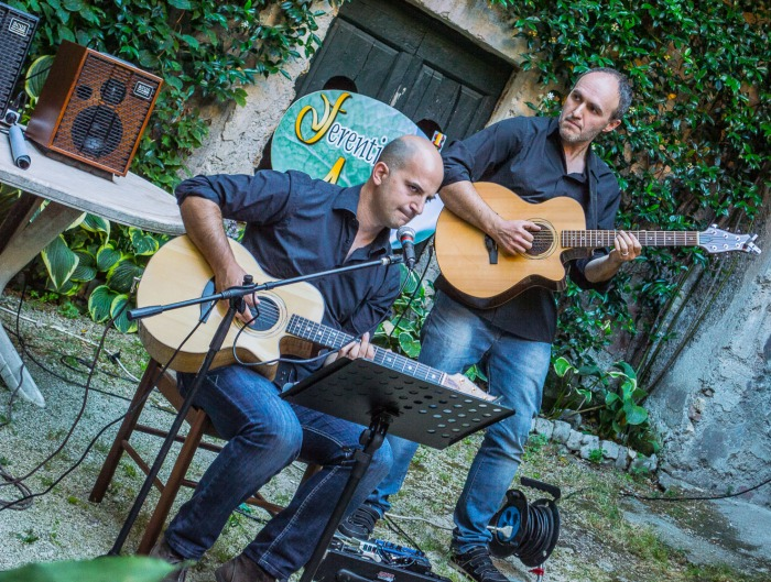 Ferentino Acustica Open Mic 2016 Acoustic Trio Baxa-Perrini-Gallian-5